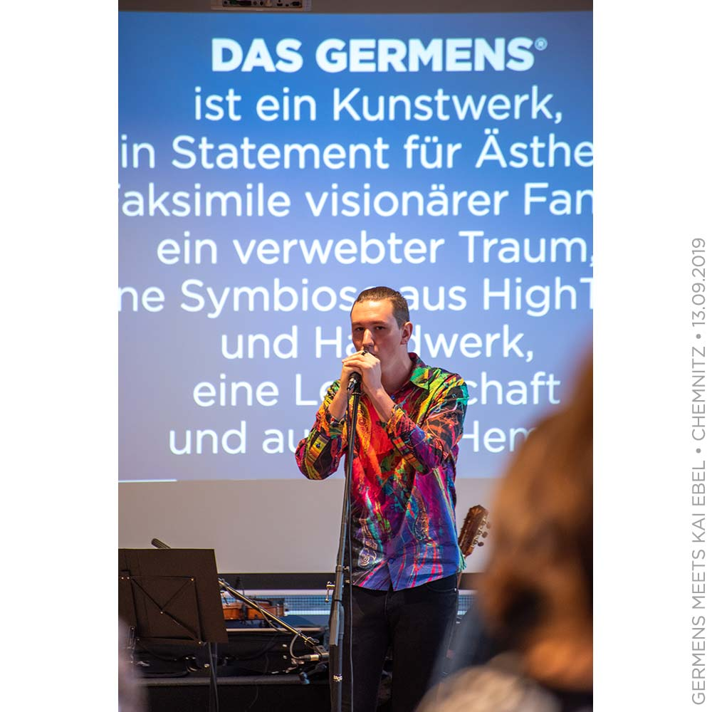 GERMENS meets Kai Ebel - 13. September 2019 - Oberdeck Chemnitz