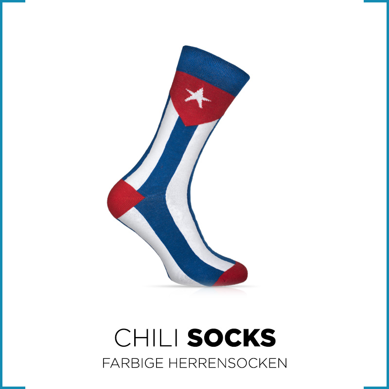 Chili Socks - Farbige Herrensocken