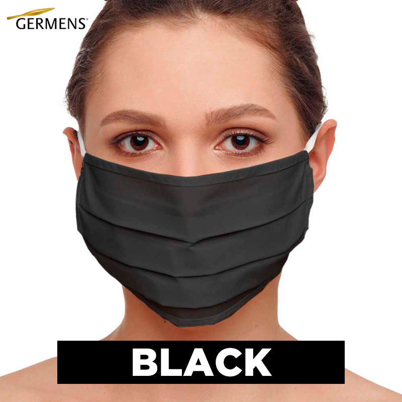 GERMENS Mouth and nose masks BLACK