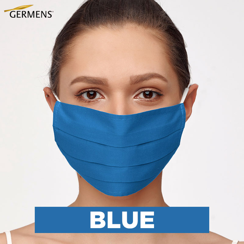 GERMENS Mouth and nose masks BLUE