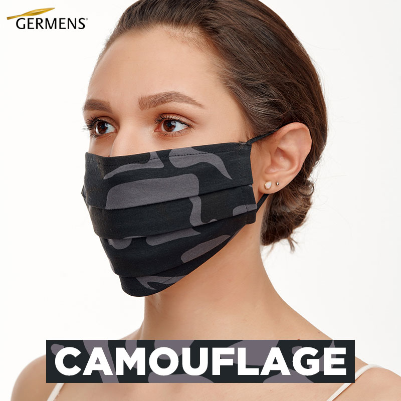 GERMENS Mouth and nose masks CAMOUFLAGE