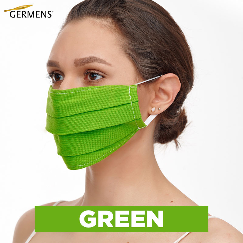 GERMENS Mouth and nose masks GREEN