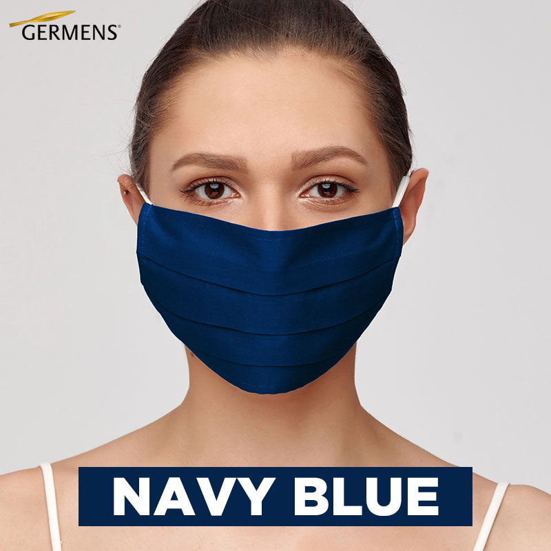 GERMENS Mouth and nose masks NAVY BLUE