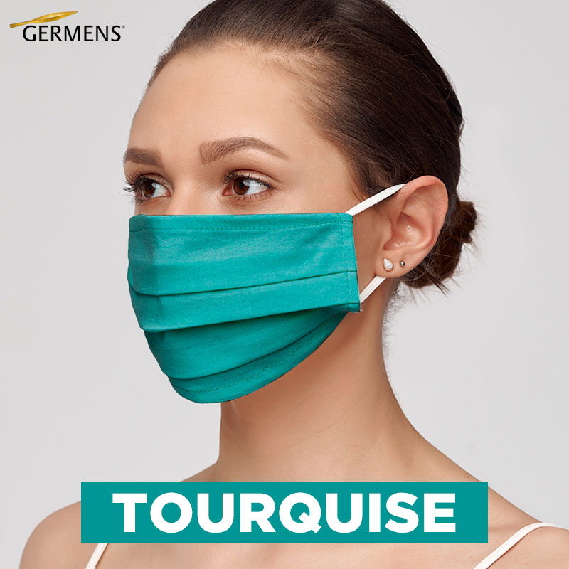 GERMENS Mouth and nose masks TOURQUISE