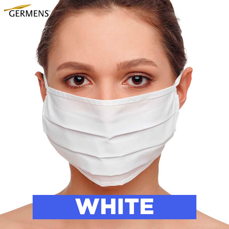 GERMENS Mouth and nose masks WHITE