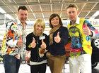 Kai Schmidt, Eiskunstlaufweltmeisterin Aljona Savchenko und René König