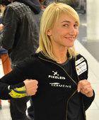Eiskunstlaufweltmeisterin Aljona Savchenko