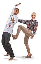 Eiskunstlaufweltmeister Aljona Savchenko und Robin Szolkowy modeln für Germens, Foto Dirk Hanus 2013