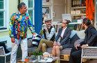 Schauspieler Armin Zarbock im Germens Hemd Munegu 2015, Foto: Rolf Arnold
