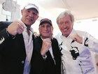 Axel Schulz, Otto Waalkes und Werner Schulze-Erdel im Germens Hemd Schattenwesen