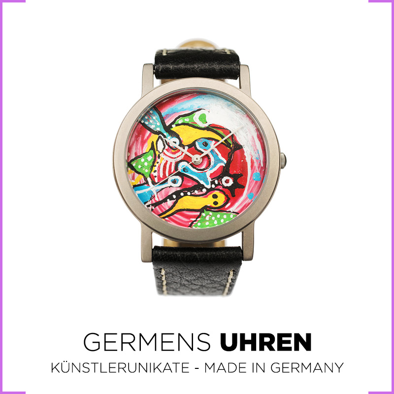 Germens Damen Uhren - Künstlerunikate - Made in Germany