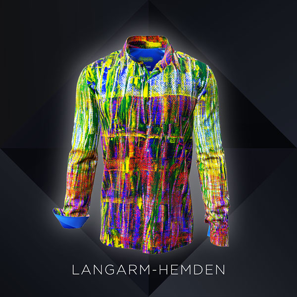 GERMENS colorful shirts for men - long sleeves