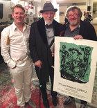René König, Markus Lüpertz und Gregor-T. Kozik, 2015