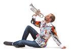 Musiker Martin Schmitt im Germens Hemd Paradies, Foto Dirk Hanus, 2013