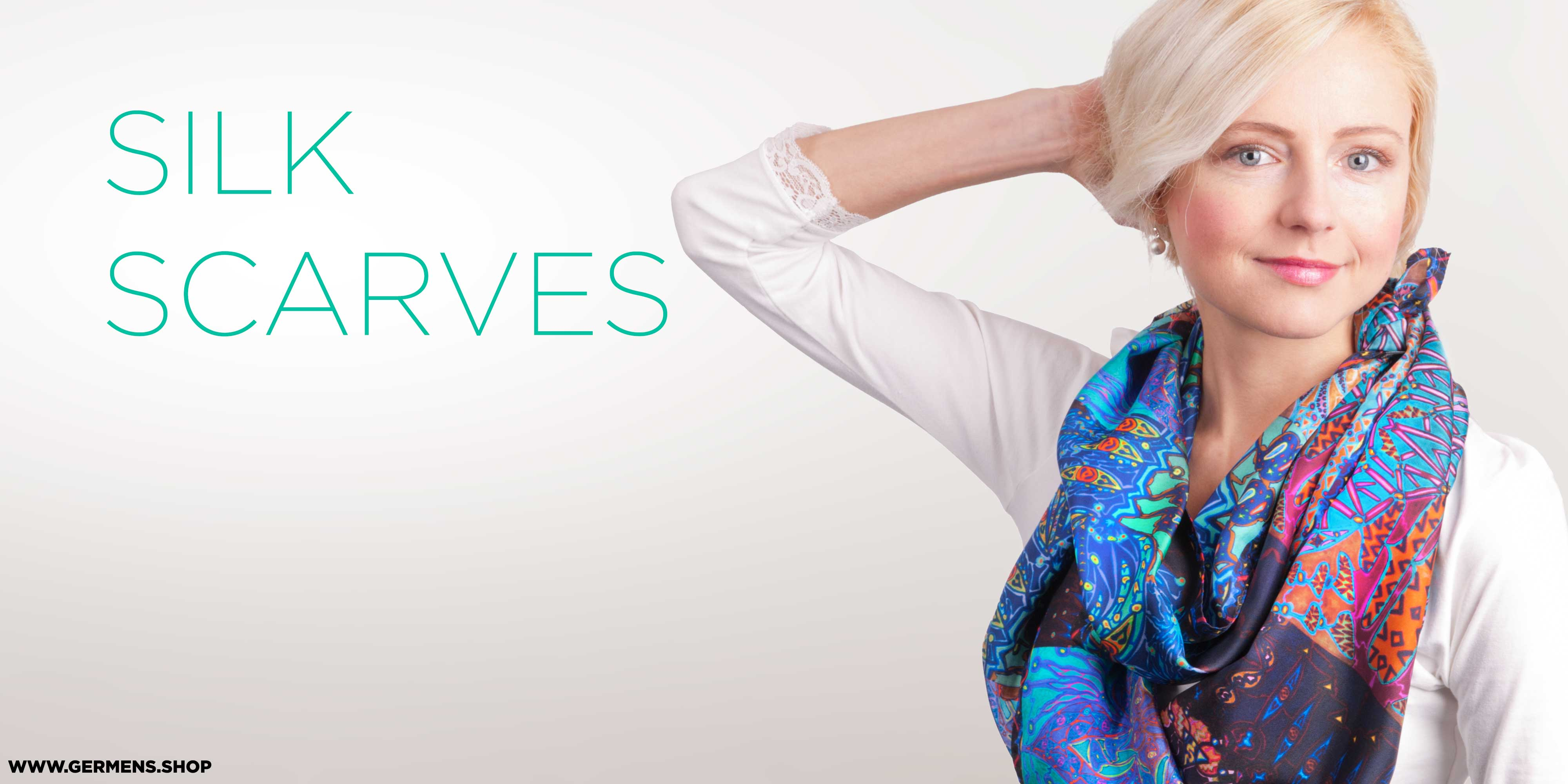 GERMENS Ladies fashion - silk scarves