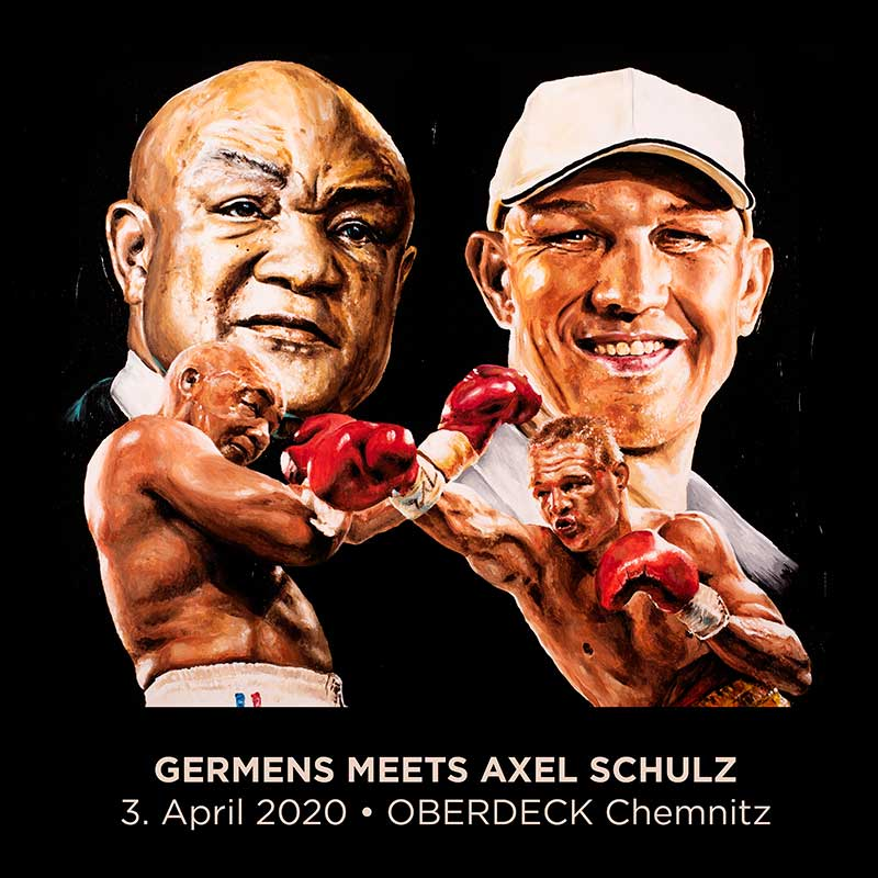 GERMENS meets Axel Schulz - 3. April 2020 - Oberdeck Chemnitz