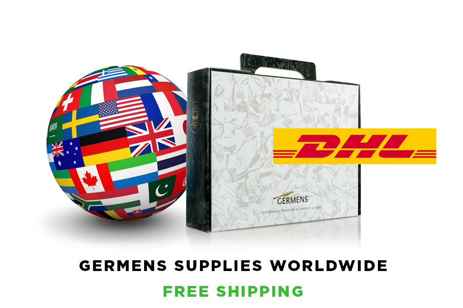 Germens supplies worldwide - Free shipping