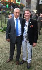 Ministerpräsident Stanislaw Tillich und René König in Breslau 2016