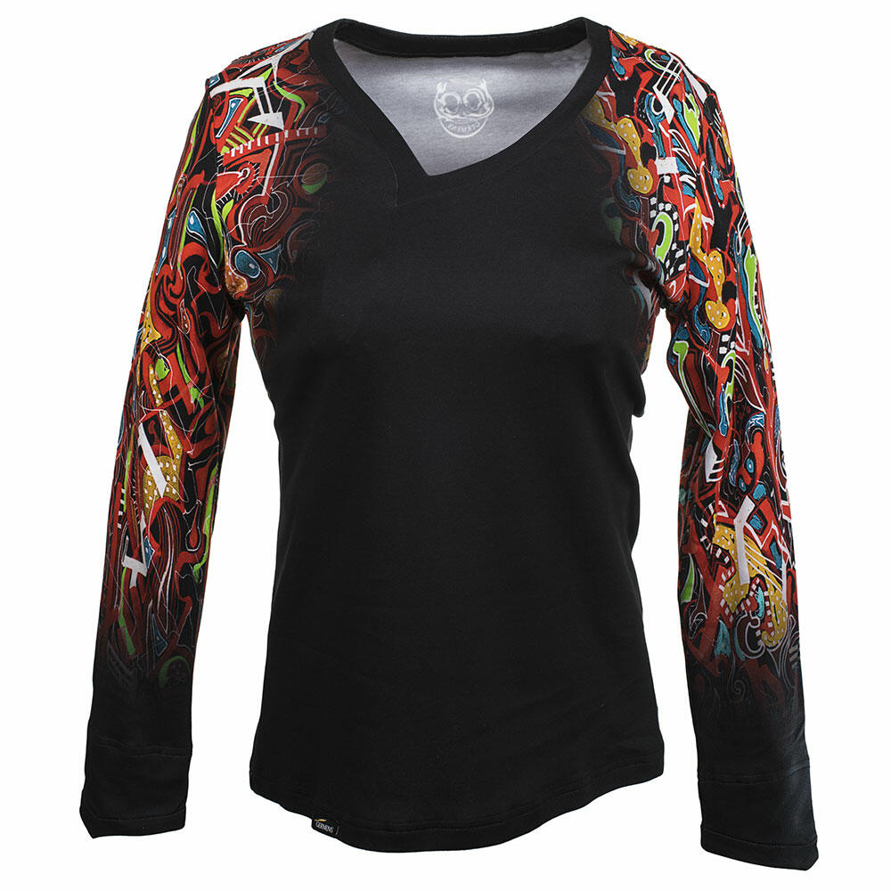 TIKITAKI - Women's colorful long sleeve Tshirt by GERMENS