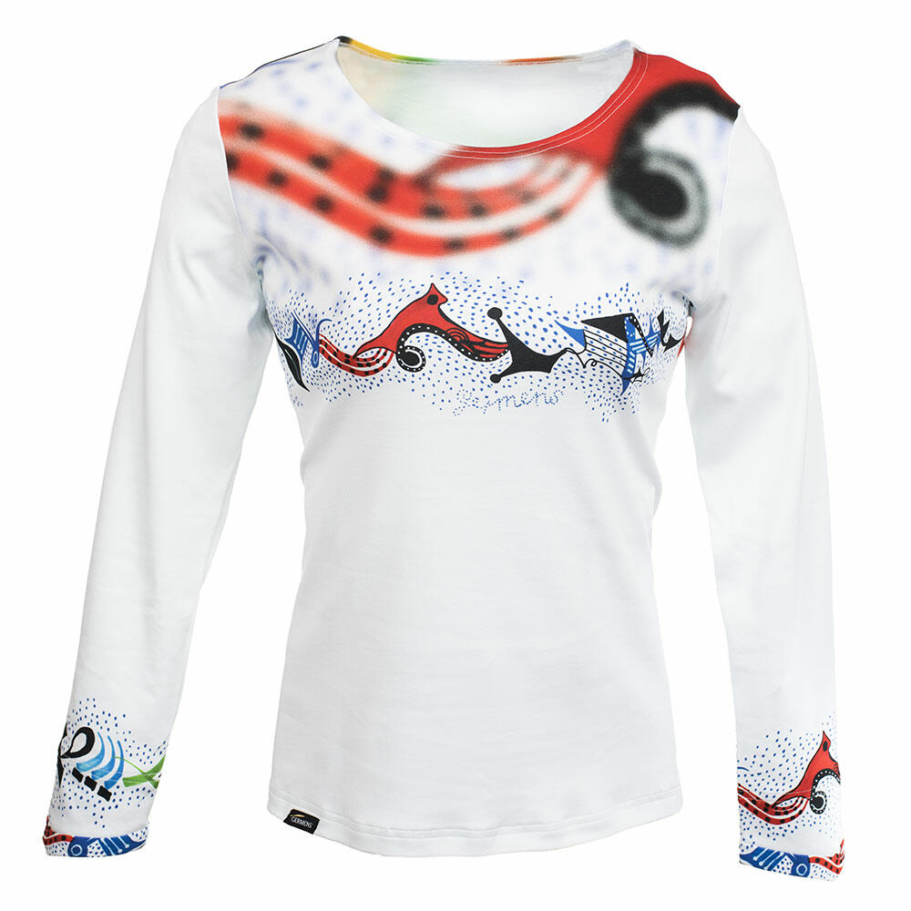 PINITIKI - Colorful ladies long sleeve tshirt