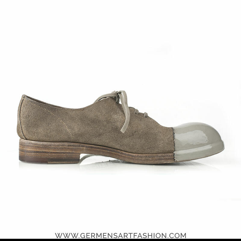 Wild Leather Men's Shoe Reverse Albinos - Elia Maurizi
