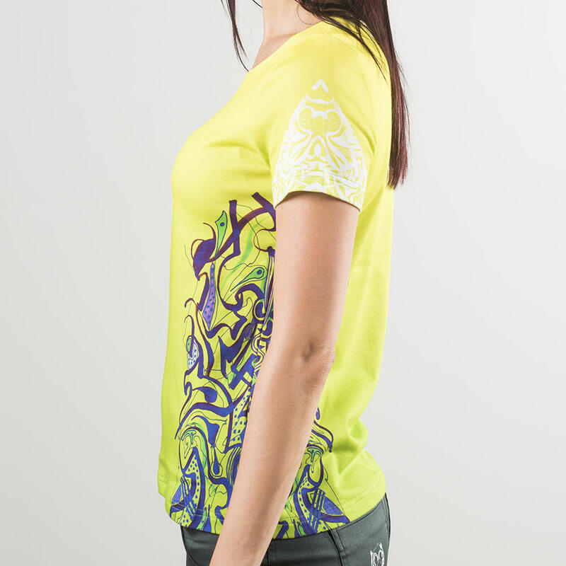 PEPPERMINT HIGH - Colorful ladies short sleeve tshirt