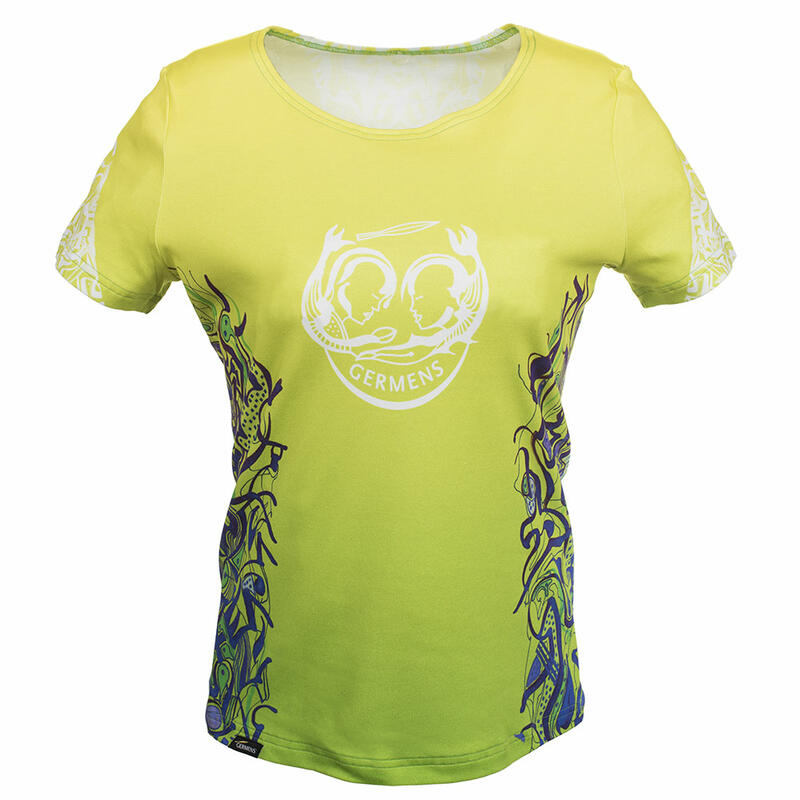 Buntes Damen Tshirt PEPPERMINT HIGH von Germens