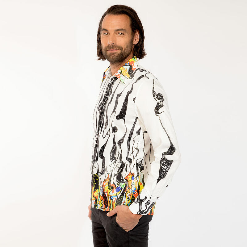 FINLAY - Colorful mens shirt  - GERMENS
