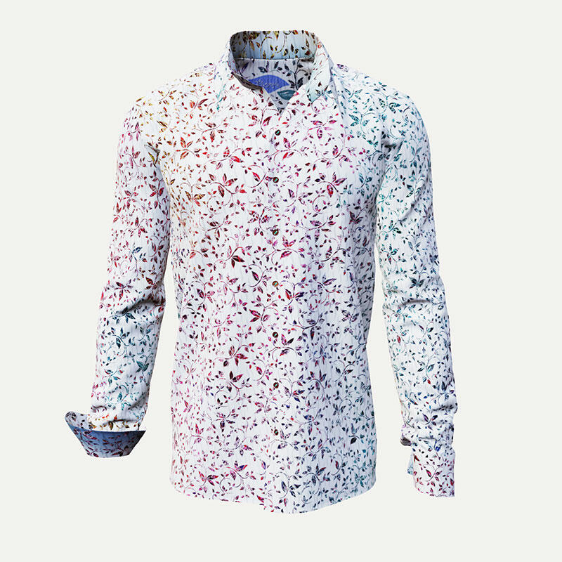 Colored leisure shirt FLOREL