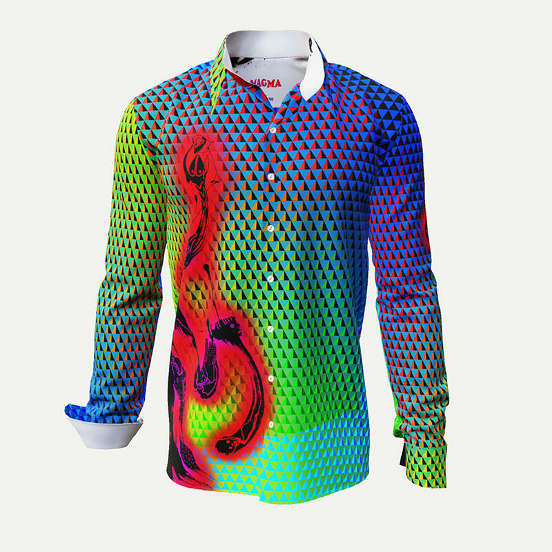 MAGMA - Very colored men´s shirt
