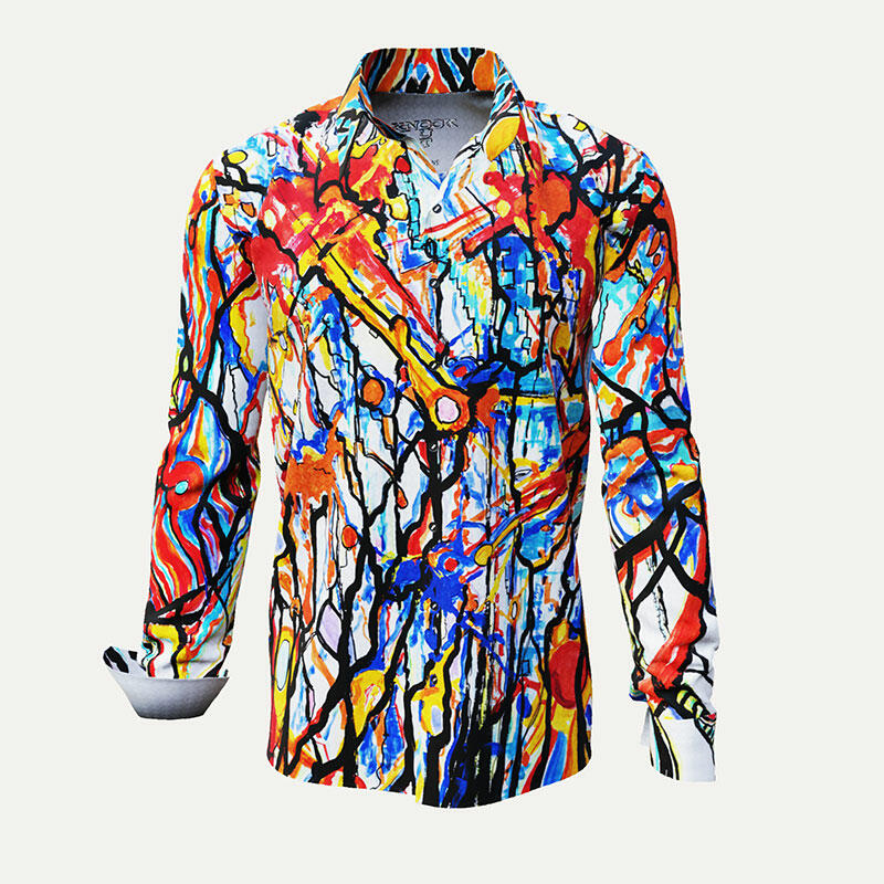 Colored mensshirt KNOCKOUT