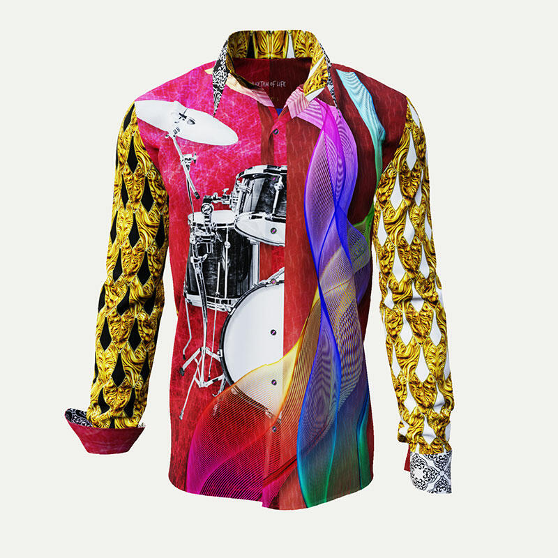 RHYTHM OF LIFE - Colored shirt for musicians