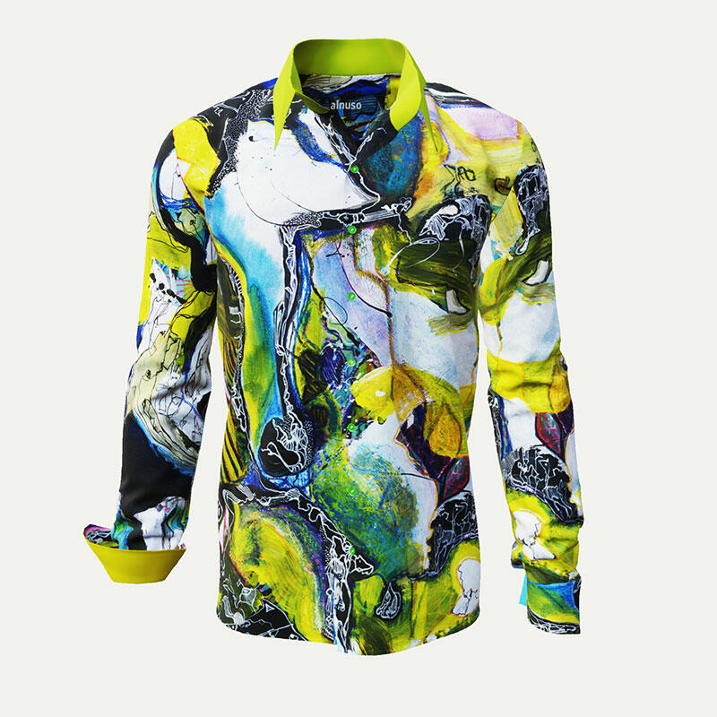 ALNUSO - Colorful casual shirt