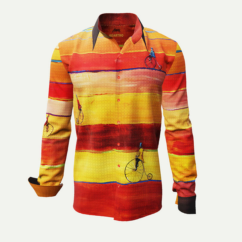REARTRO - Multicolor men´s shirt