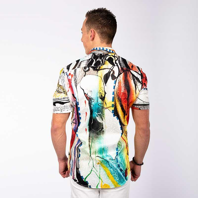 PARADIES - Colored short sleeve shirt - GERMENS