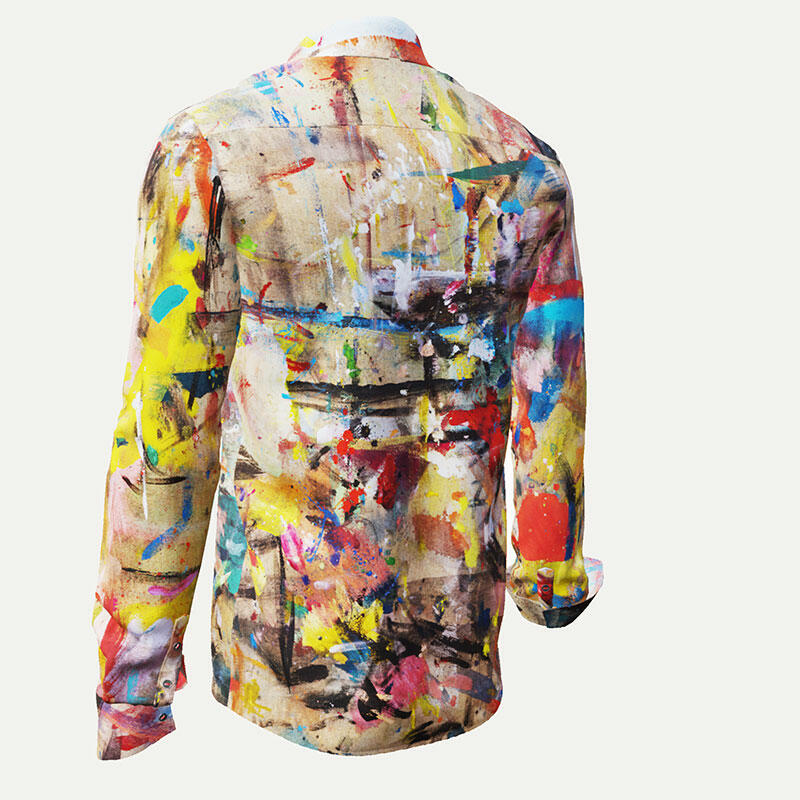 CRUSHED CEMENT - Colored artist shirt - GERMENS