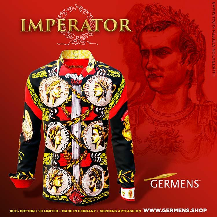 IMPERATOR - The shirt of the rulers - GERMENS