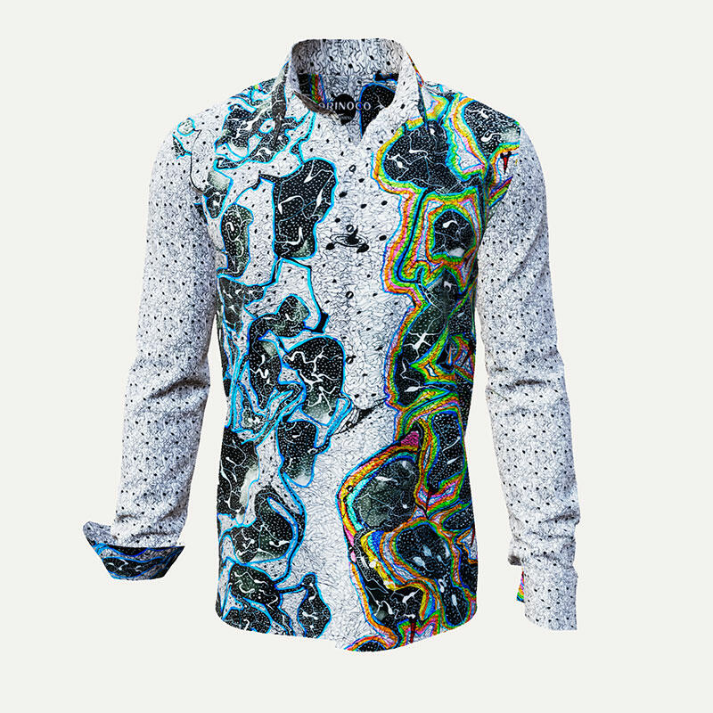 Multi-colored leisure shirt ORINOCO by Germens