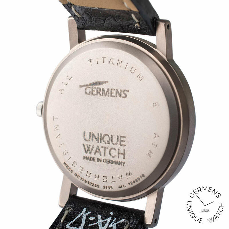 Germens Wristwatch No. 021 - Time Strike - Unique