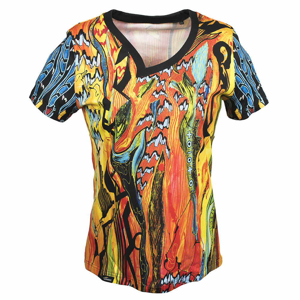 NIGHTSUN - Buntes Damen T-Shirt