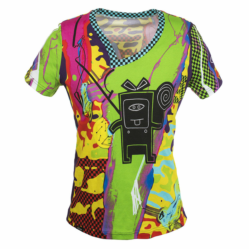 MILIDILI - Colorful ladies short sleeve tshirt