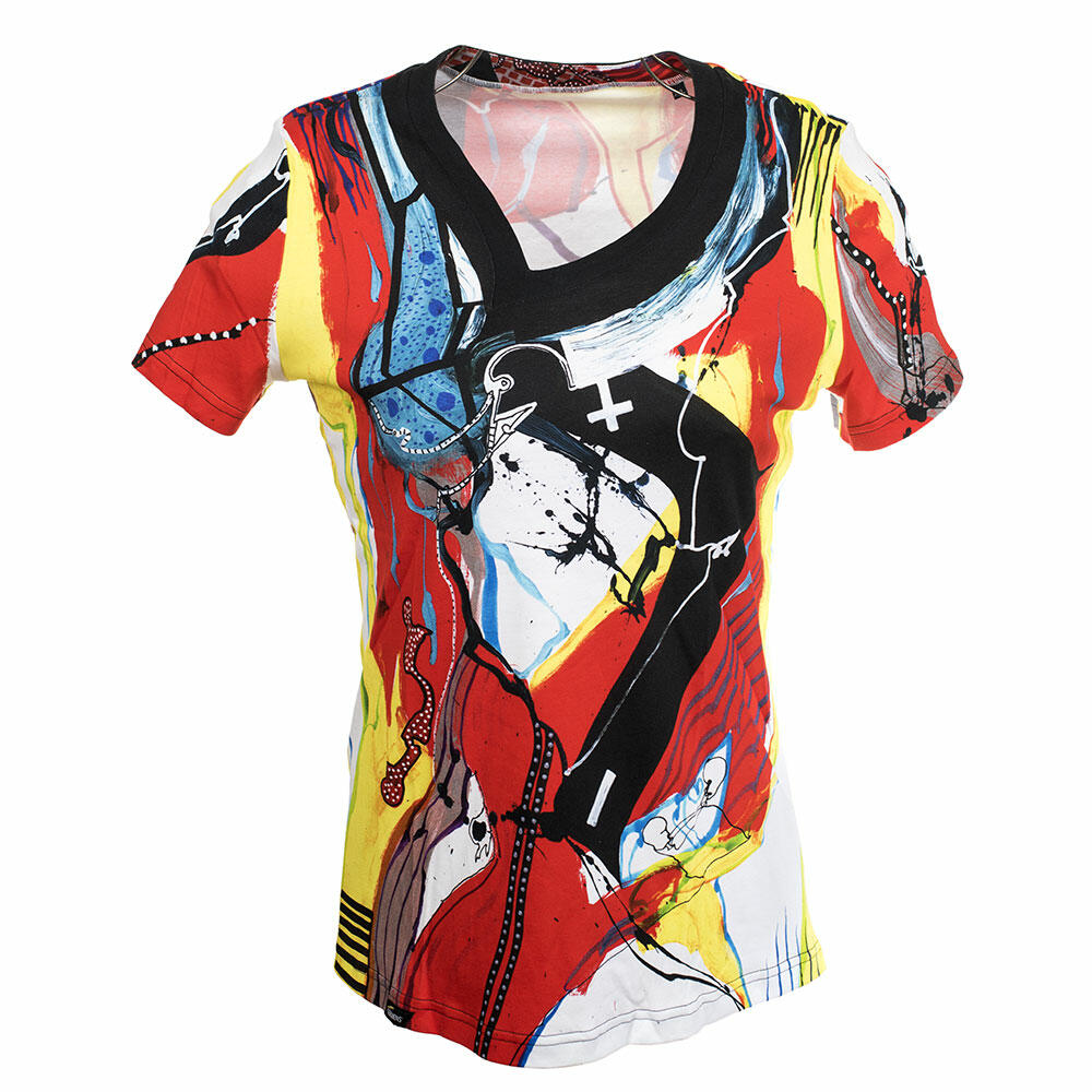 PLUSMINUS Colorful ladies short sleeve tshirt by GERMENS