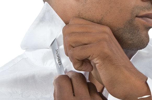 Metallkragenstäbchen sorgen für einen formstabilen Kragen