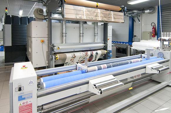 mit dem Inkjet-Textildruck wird die beste Druckqualität erreicht