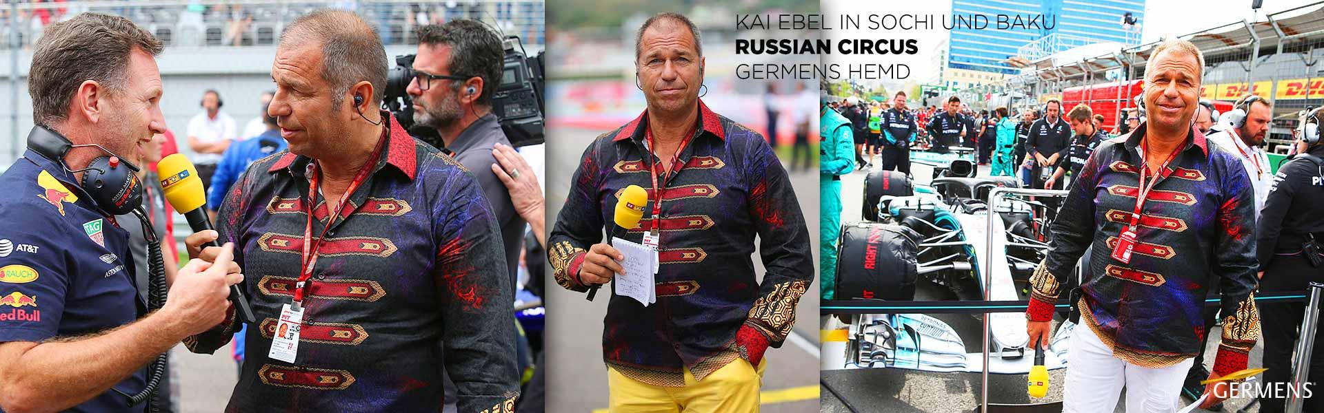 GERMENS Hemd RUSSIAN CIRCUS