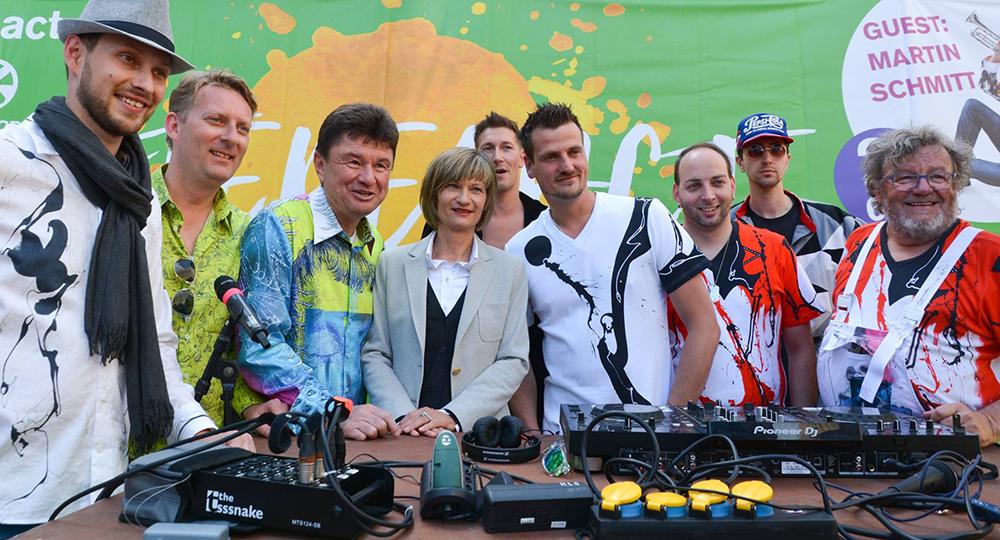 Martin Schmitt, René König, Michael Kahnt, Barbara Ludwig, DJ Ric, DJ Rixx, Peter Piek, Gregor-T. Kozik